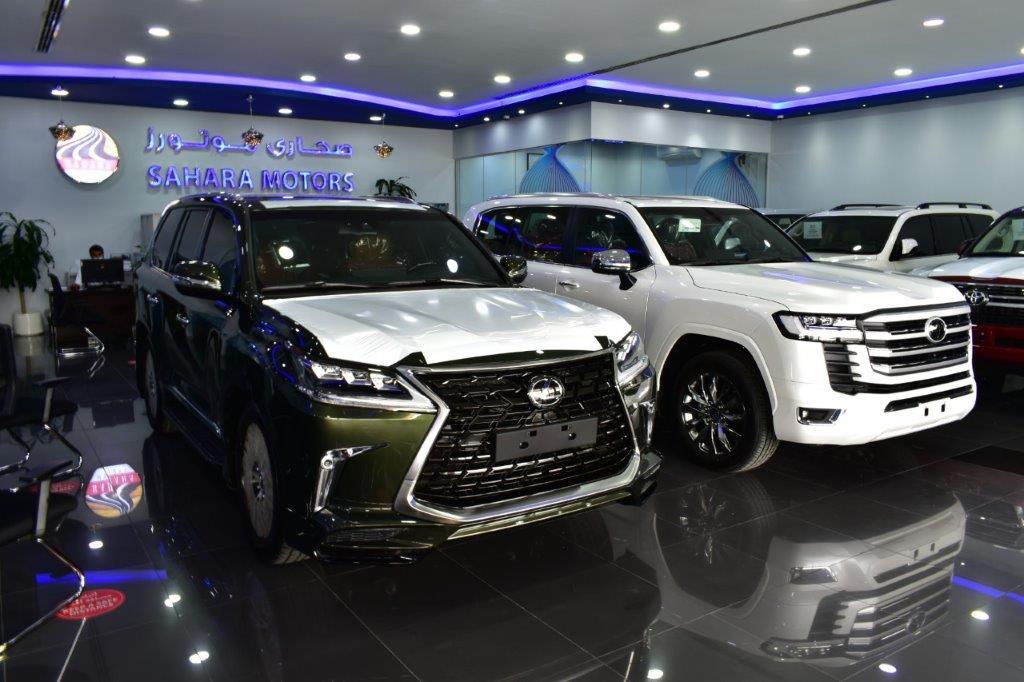 sahara motors showroom