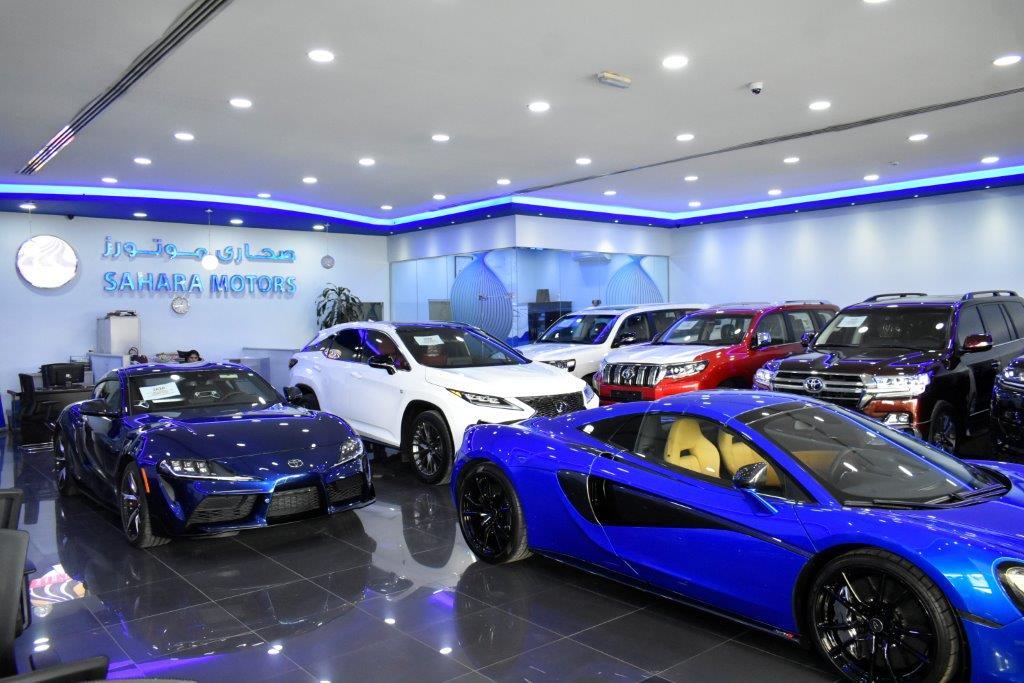 sahara motors showroom1