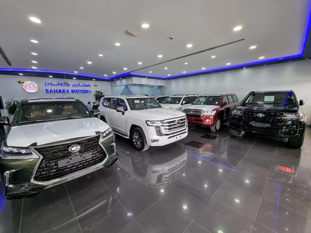 sahara motors showroom 3