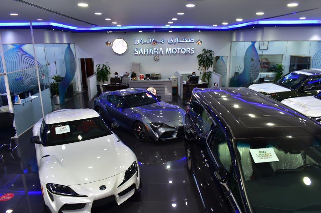 sahara motors showroom 6