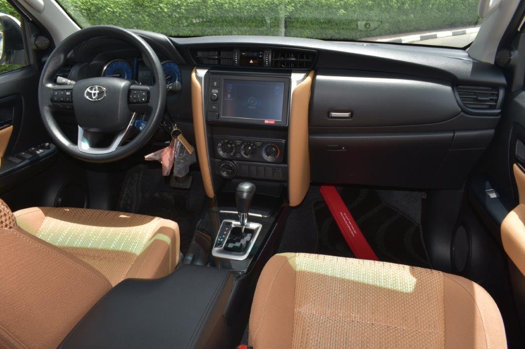 Toyota Fortuner interior view