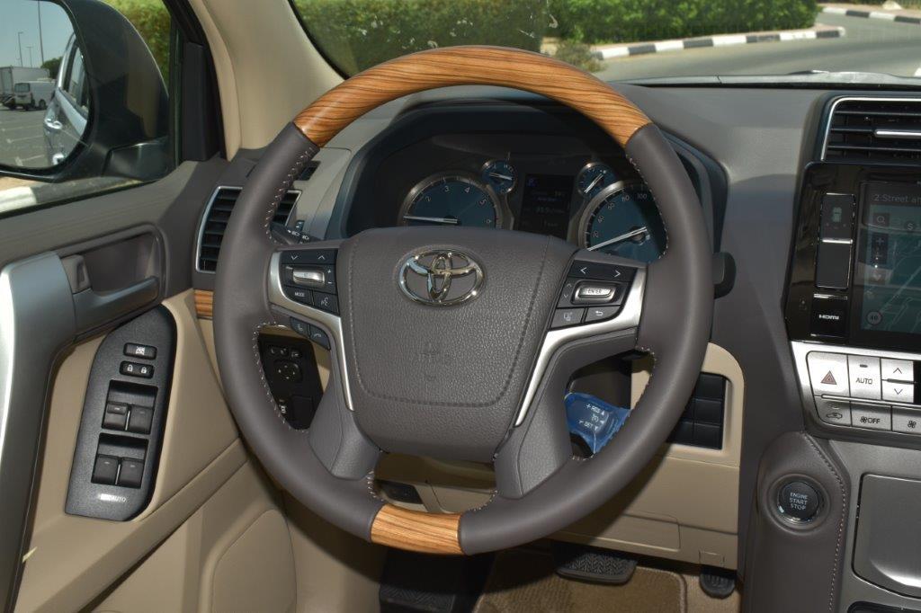 TOYOTA PRADO VX V6 4.0L PETROL AT MIDNIGHT EDITION full steering