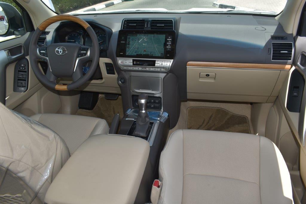 TOYOTA PRADO VX V6 4.0L PETROL AT MIDNIGHT EDITION front seat view