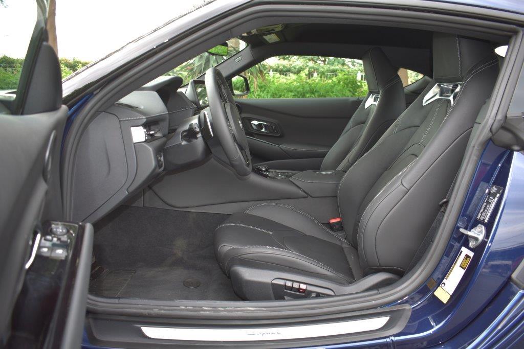 TOYOTA SUPRA front seat