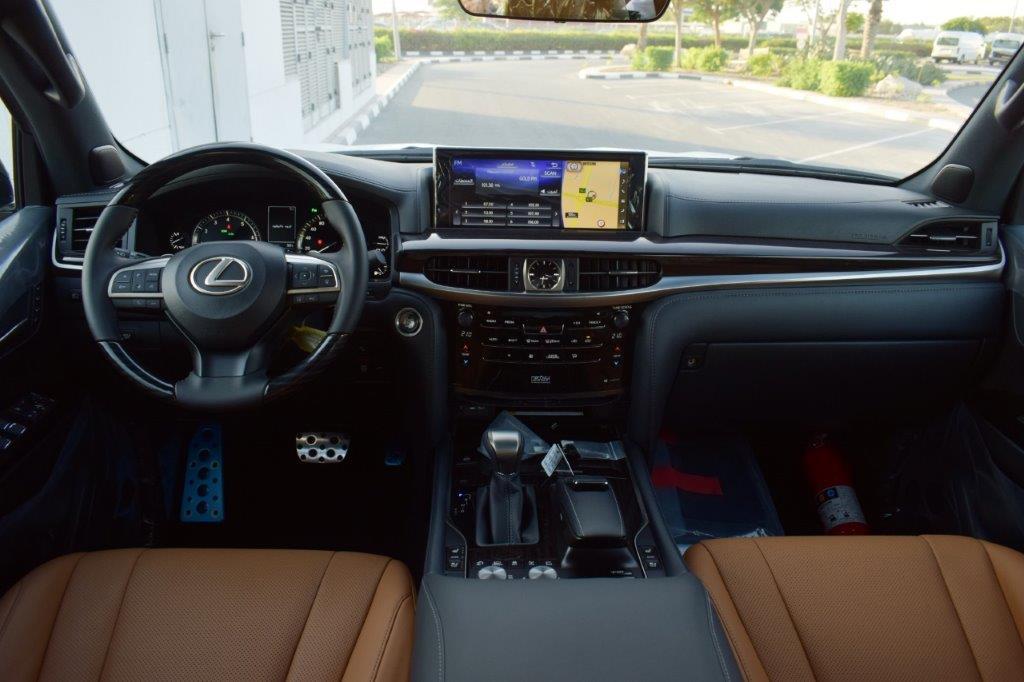 LEXUS LX570 V8 5.7L PETROL AT SUPERSPORT Steering
