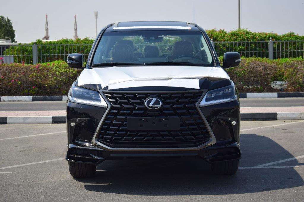 LEXUS LX570 V8 5.7L AT BLACK EDITION front full car view