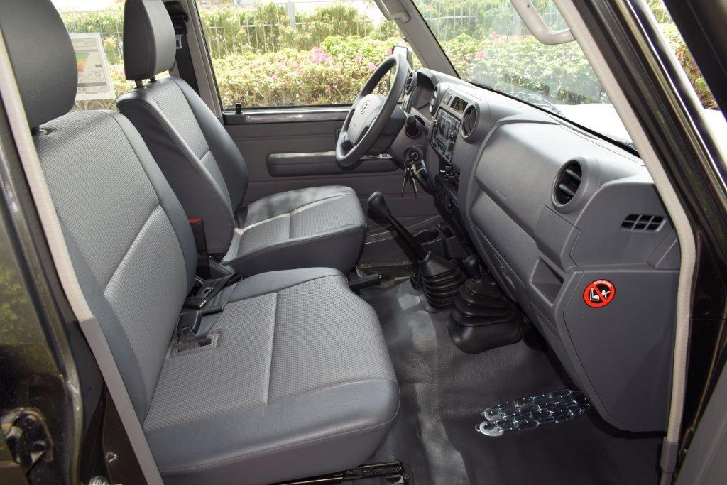LC79 Xtreme back seats interior image