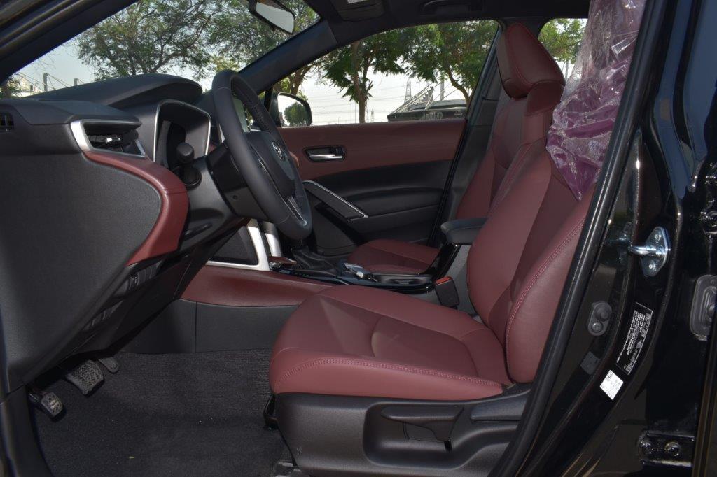 toyota cross hybrid front seat image