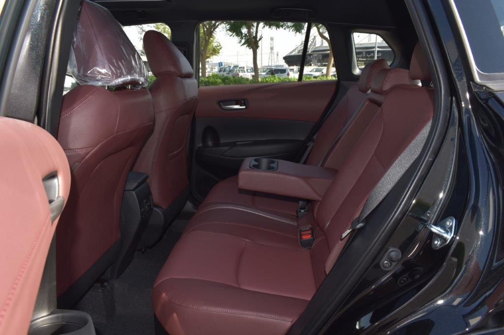 toyota cross hybrid rear seat image
