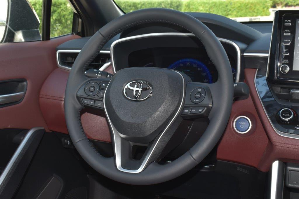 toyota cross hybrid steering image