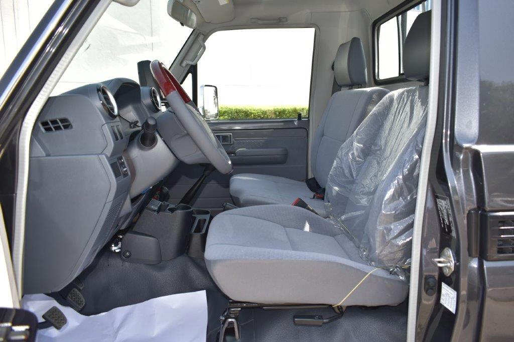 2022 toyota lc79 pickup petrol lxv interior image