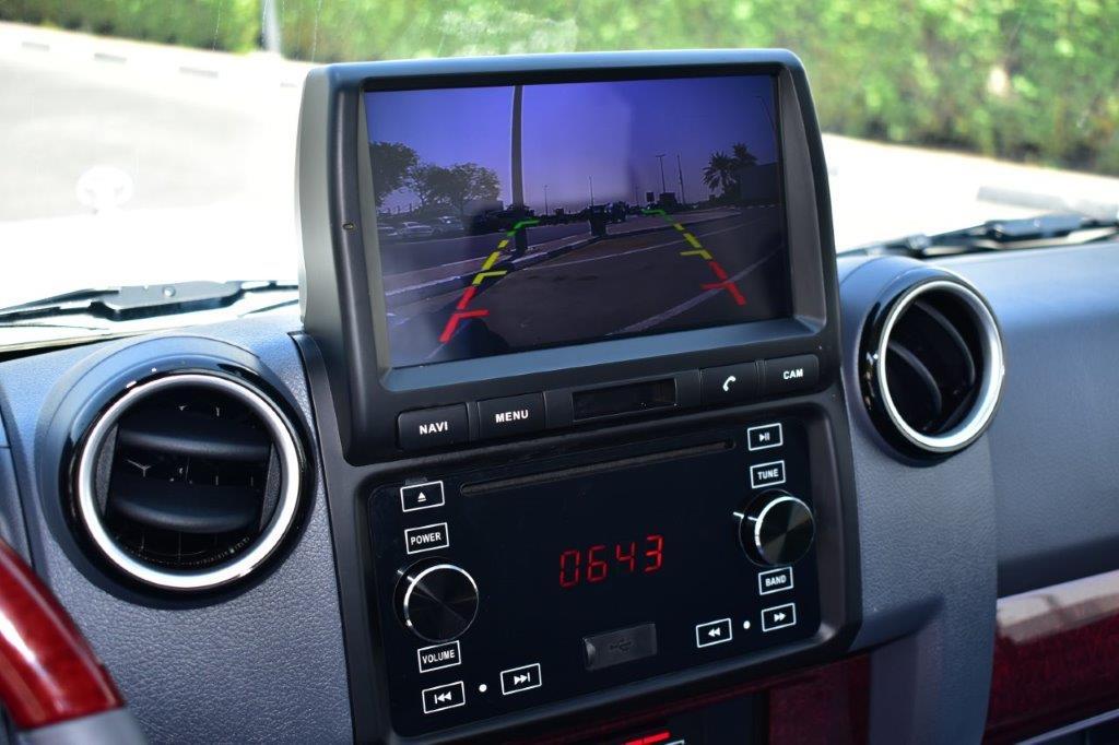 2022 toyota lc79 pickup petrol lxv dashboard image