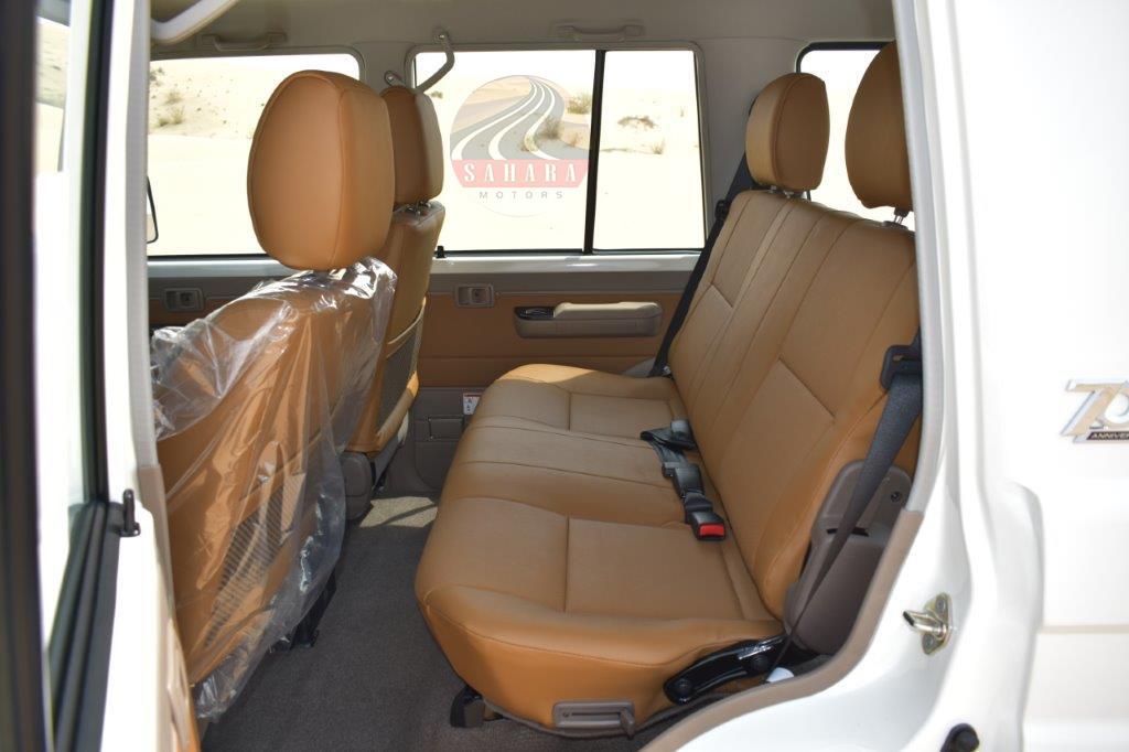 2022 toyota hardtop / wagon diesel interior rear seat image