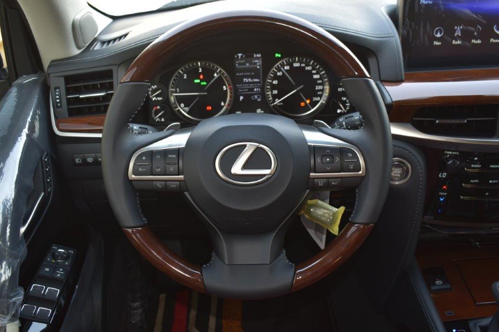 LEXUS LX450D STEERING IMAGE