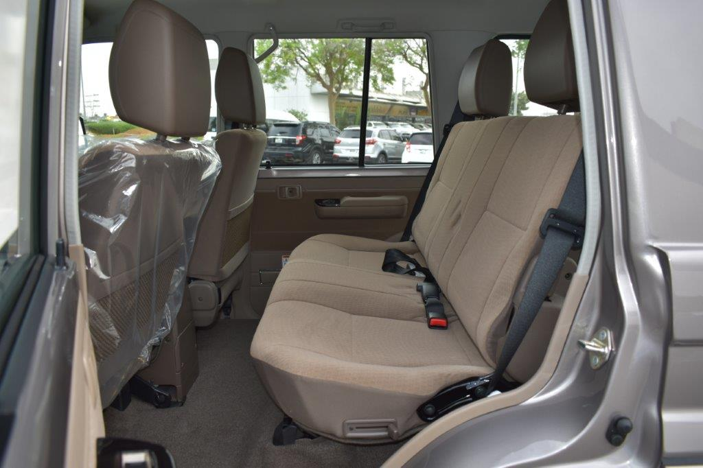 2022 LC 76 HT BACK SEAT IMAGE