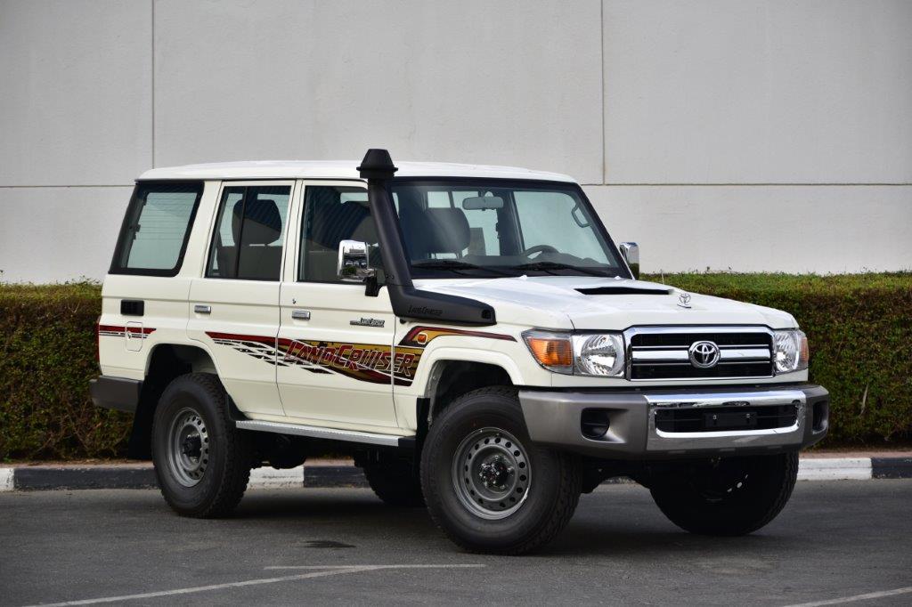 TOYOTA LC76 HARDTOP LX V8 4.5 TD 4WD MT