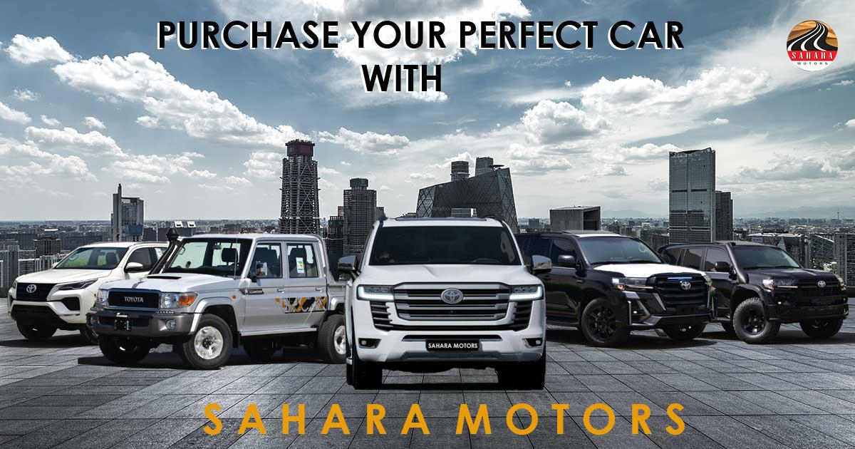 sahara motors Dubai-the car exporting model company